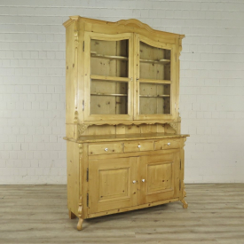 Buffetschrank Schrank Louis Philippe 1860 Kiefer