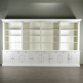 Bücherschrank Ladenregal 4,10 m