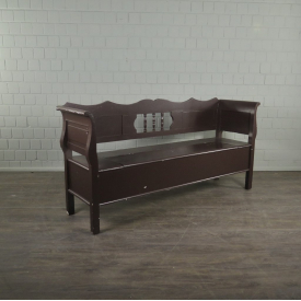 Bench Brown Wood 1,90 m