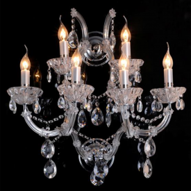 Wall lamp Chandelier Silver 0.65 m