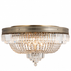 Chandelier Ceiling Lamp Bronze Ø 0.80 m