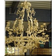 2599E32 Hanging Lamp Antique Look Ø 1.50 m