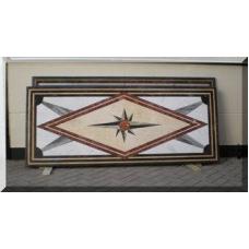 3022 Marmorplatte Tischplatte Stern 2,20 m