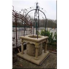 Brunnen Sandstein Sandsteinbrunnen 1,50 m