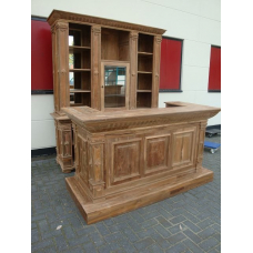 6715E Verkaufsregal & Ladentisch Bella Luxus 2,30 m