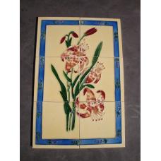 7184A Fliesen Wandbild Fliesenbild Blume 1
