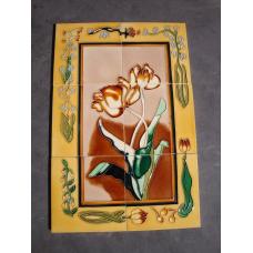 7185A Fliesen Wandbild Fliesenbild Blume 2