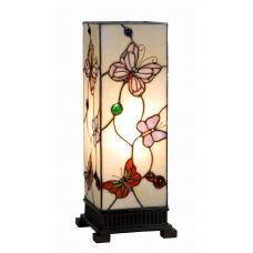 7490A Tischlampe Windlicht Tiffany 0,44 m
