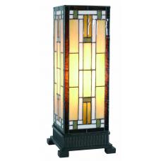 7533 Tischlampe Windlicht Tiffany 0,44 m
