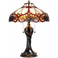 7536 Tischlampe Lampe Tiffany Ø 0,40 m