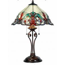 7554 Tischlampe Lampe Tiffany Ø 0,40 m