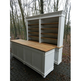 Cabinet & sales counter Justine 2,50 m
