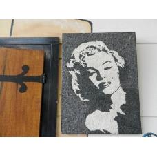 8061 Marmor Mosaik Bild Marilyn Monroe 0,60 m