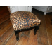 8071A Fusshocker Hocker Leopard