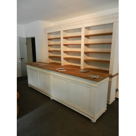 Cabinet & sales counter Justine 3,00 m