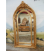 8789 Spiegel Wandspiegel Barock Gold 1,12 m x 2,14 m