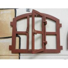 8910CA Fenster Gusseisen Stallfenster 0,42 m