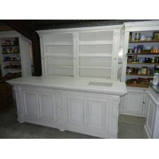 9096 Verkaufsregal & Ladentisch Leandra White 2,50 m