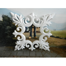 9225 Spiegel Wandspiegel 1,25 m x 1,25 m