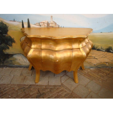 9890A Baroque Style Commode Gold 1.20 m