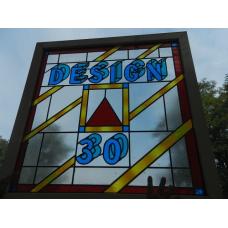 9970A Fenster mit Bleiverglasung