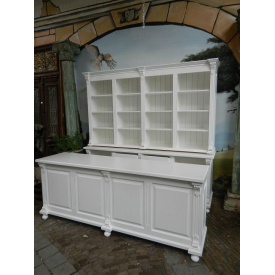 12566E Sales Cabinet & Sales Counter Celine - White 2.50 m