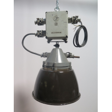 15742E Lampe Industrielampe Schwarz Ø 0,40 m