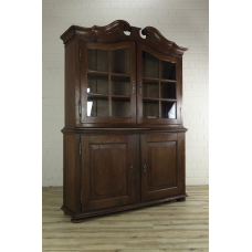 A16032E Showcase Cabinet Baroque 1750